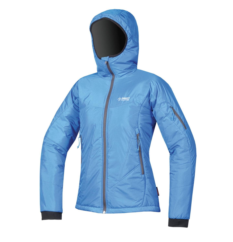 Direct Alpine bunda Denali Lady 5.0 Barva: Modrá, Velikost nebo typ: M