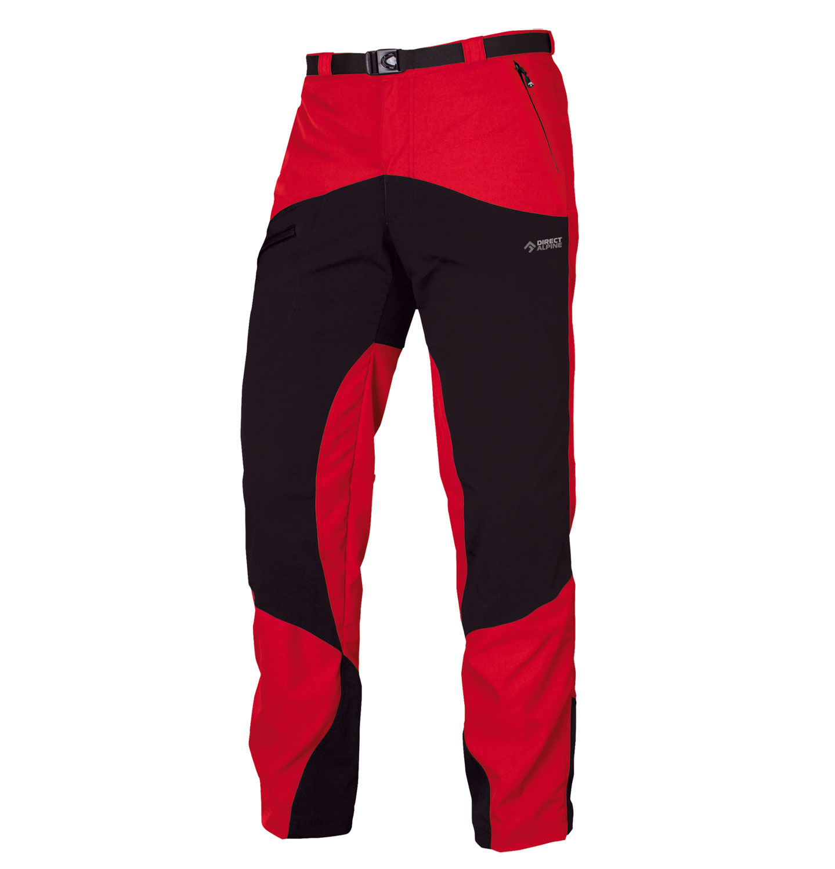 Direct Alpine kalhoty MOUNTAINER 4.0 Barva: červená, Velikost nebo typ: M