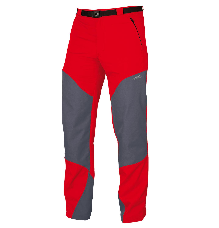Direct Alpine kalhoty PATROL 4.0 Barva: červená, Velikost nebo typ: L