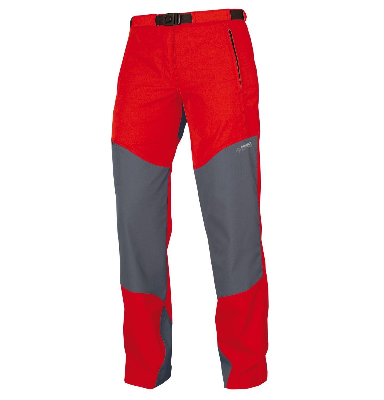 Direct Alpine kalhoty PATROL LADY 4.0 Barva: červená, Velikost nebo typ: L