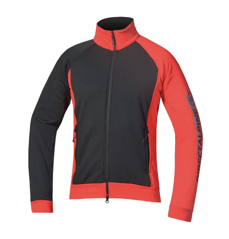 Direct Alpine mikina Rock 3.0 Barva: černo červená, Velikost nebo typ: L