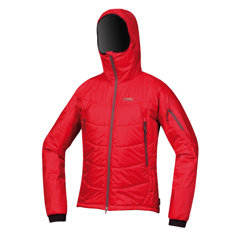 Direct Alpine bunda Denali model 2014/15 Barva: červená, Velikost nebo typ: L