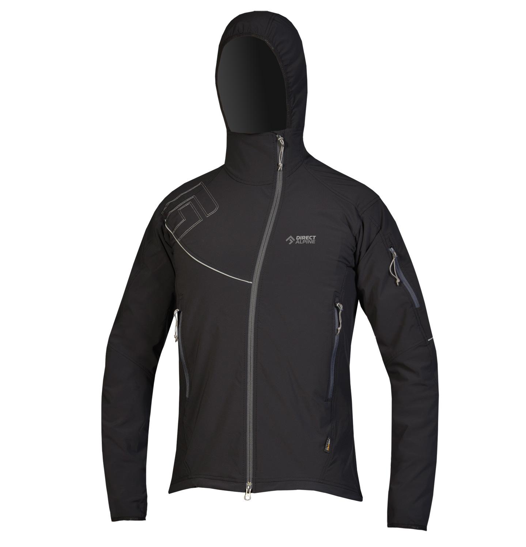 Direct Alpine softshellová bunda Dru 3.0 Barva: černá, Velikost nebo typ: L