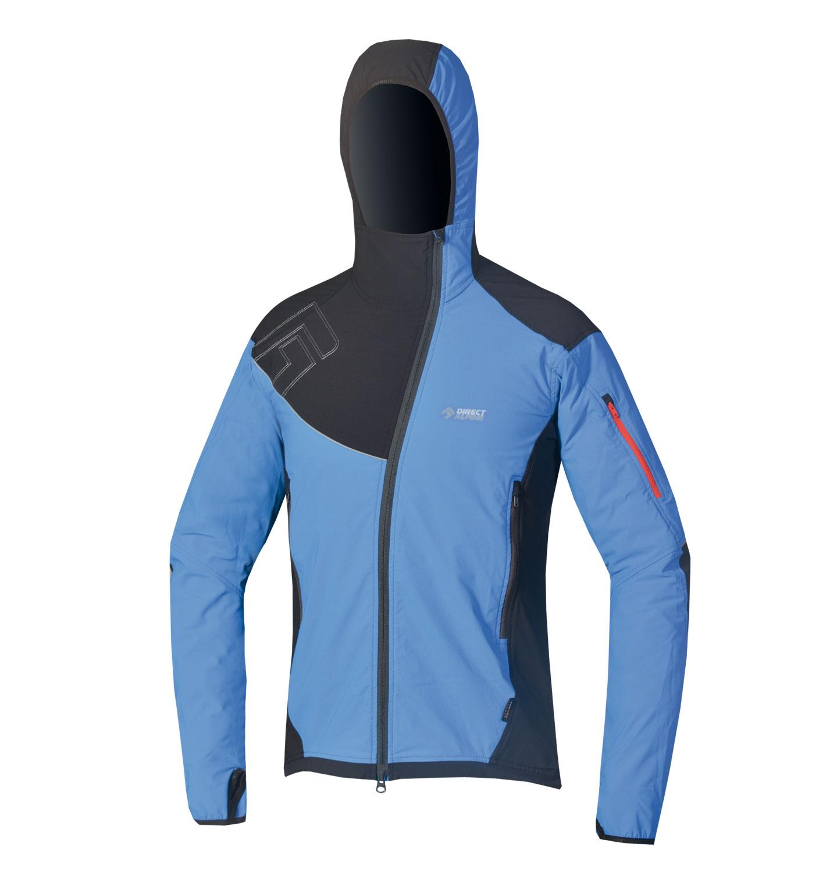 Direct Alpine softshellová bunda Dru 3.0 Barva: Modrá, Velikost nebo typ: L