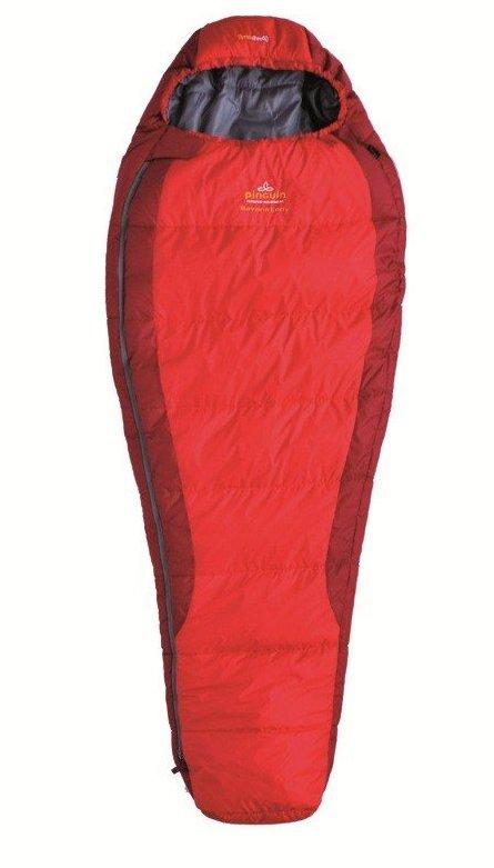 Pinguin spací pytel Savana Lady Barva: Červený, Zip: pravý, Výška postavy: 175cm