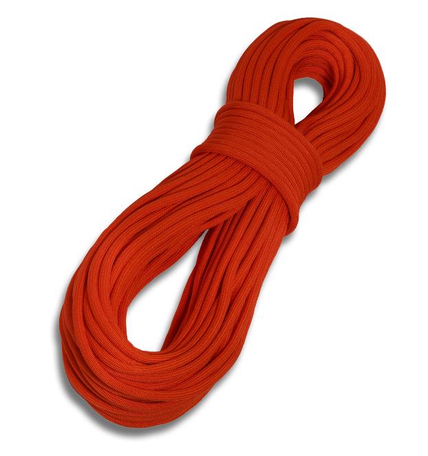 Tendon lano Hattrick 8,6 Barva: Oranžová, Délka (m): 200, Impregnace: Impregnace opletu a jádra
