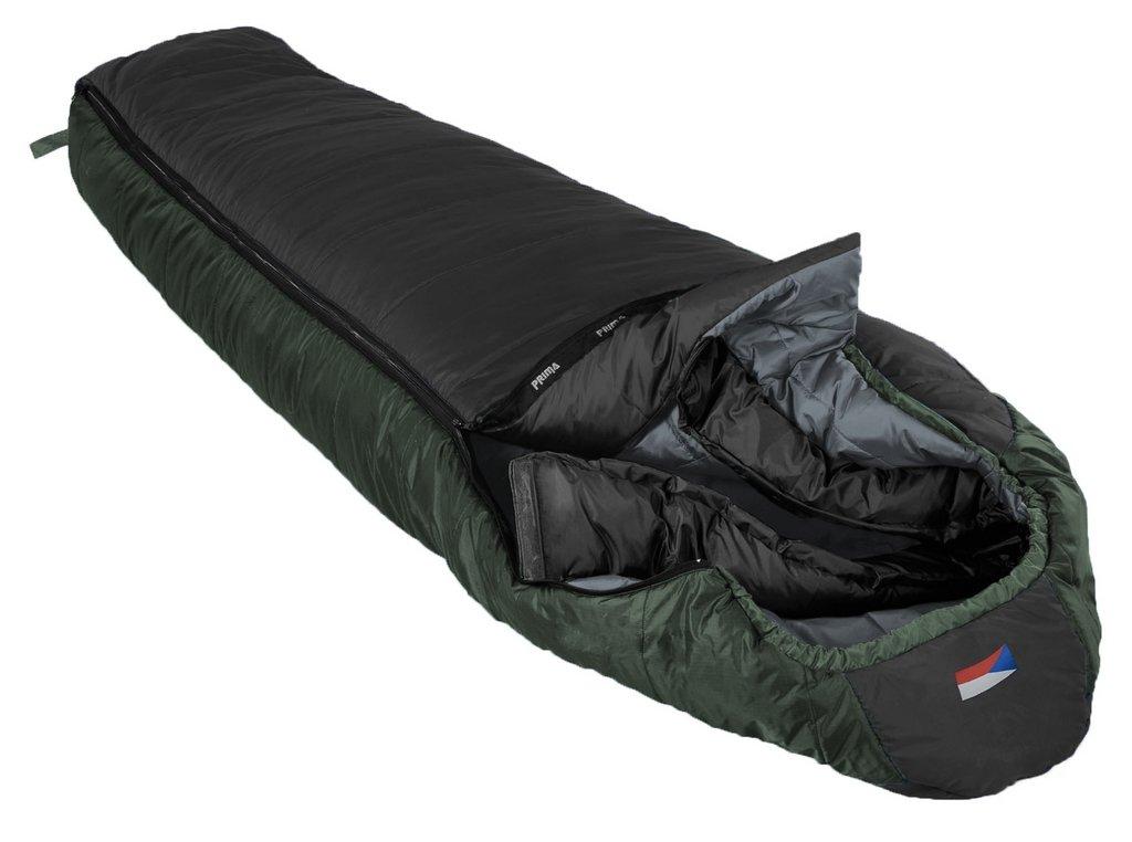 Prima spací pytel Annapurna Barva: černá, Zip: pravý, Velikost (cm): 200