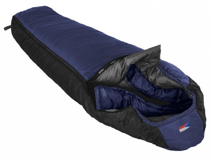 Prima spací pytel Annapurna Barva: Modrá, Zip: levý, Velikost (cm): 200