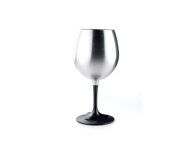 GSI Outdoors sklenička Glacier Stainless Nesting Red Wine Glass