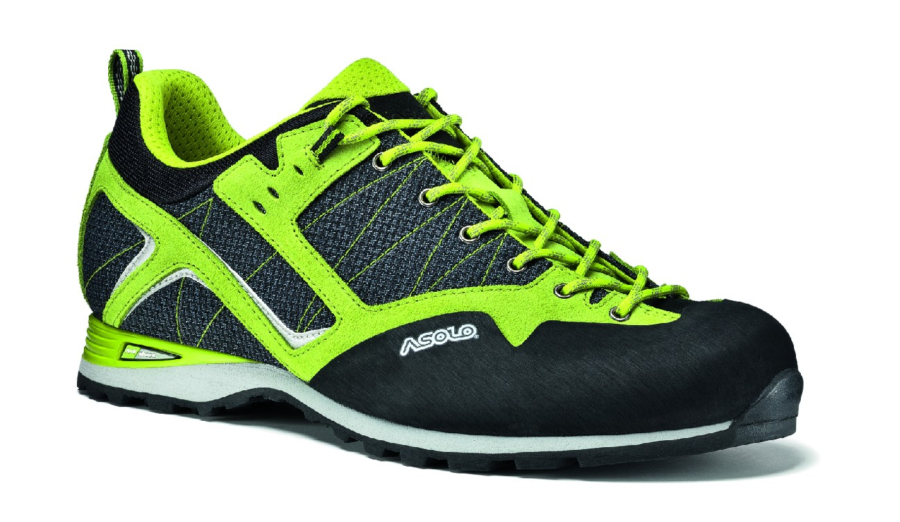Asolo boty Magix MM Barva: A561 nero/green lime, Velikost nebo typ: 6