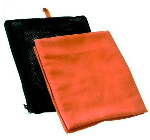 Jurek multifunkčí ručník Suede 60x100 cm (L) Barva: Oranžová