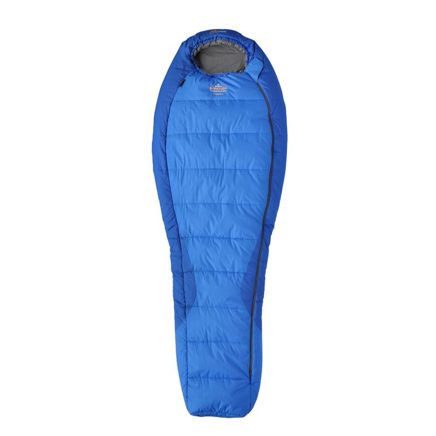 Pinguin spací pytel Topas Barva: modrý 185cm - zip pravý