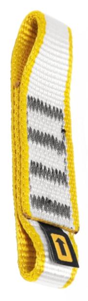 Singing Rock nylon expres smyčka 16/25 mm Barva: žlutá