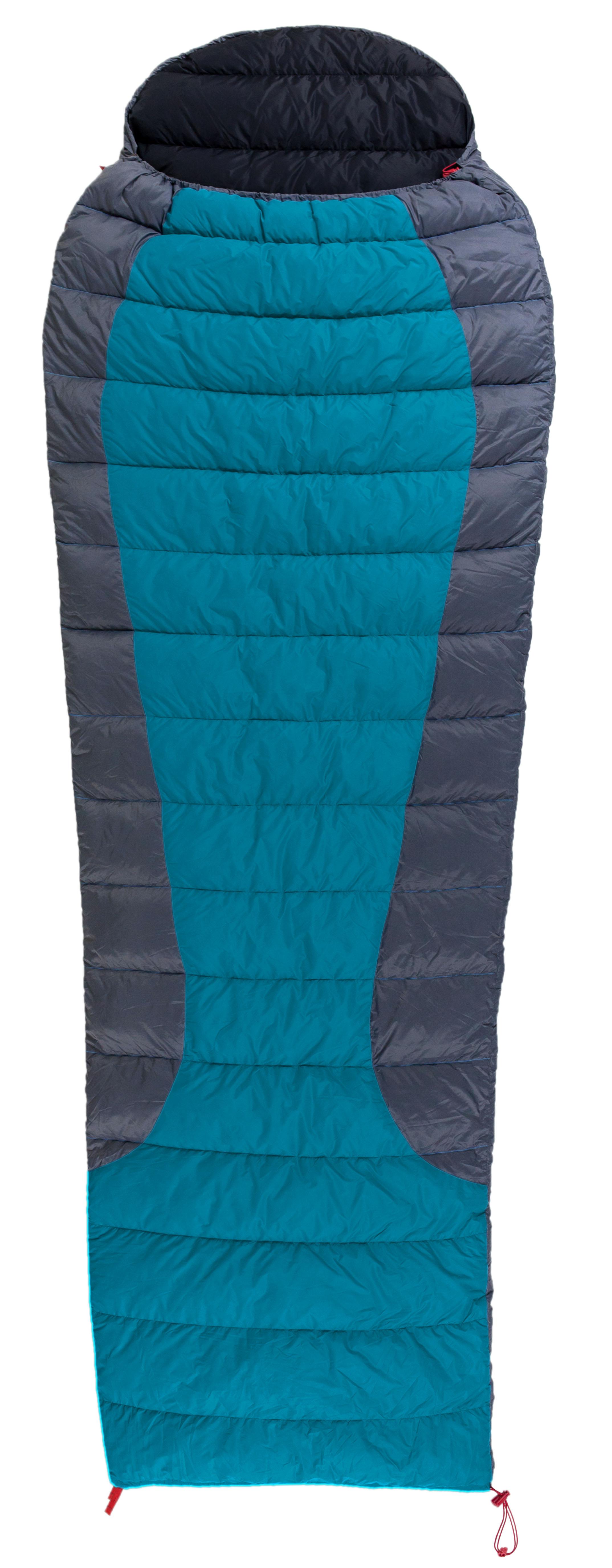 Warmpeace spací pytel Viking Blanket Barva: Modrá, Zip: pravý, Velikost (cm): 195