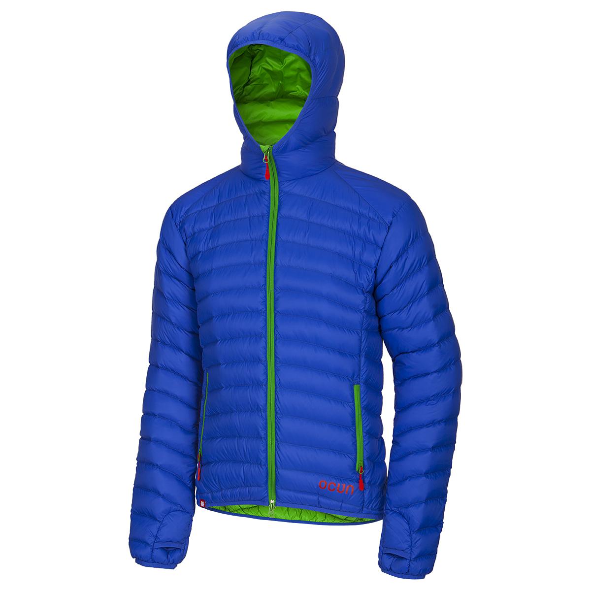 Ocún péřová bunda Tsunami Down Jacket Men Barva: Modrá, Velikost nebo typ: M