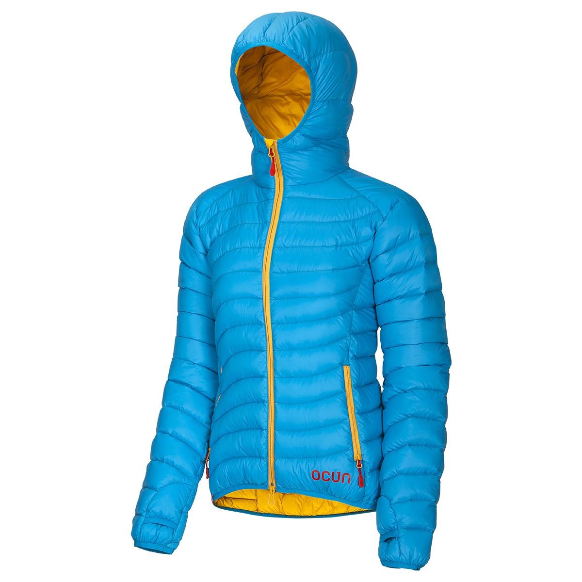 Ocún péřová bunda Tsunami Down Jacket Women Barva: Modrá, Velikost nebo typ: S