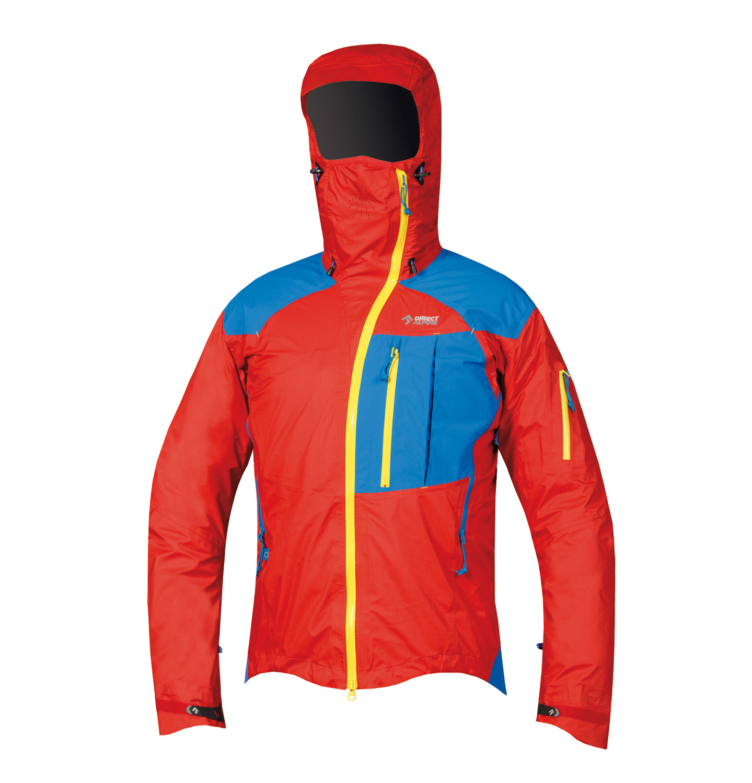 Direct Alpine bunda Guide 5.0 Barva: červená / modrá, Velikost nebo typ: M