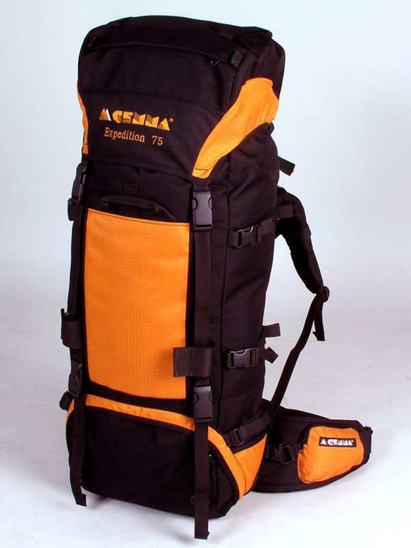Gemma batoh EXPEDITION 50 Cordura Barva: oranžová - černá