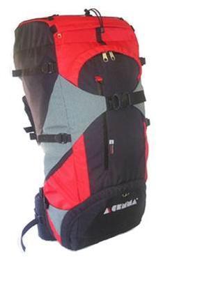 Gemma batoh TURIST 65 Cordura Barva: červená - černá
