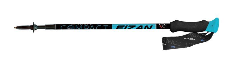 Fizan trekové hole Compact Barva: Fizan Compact černá, model 2016
