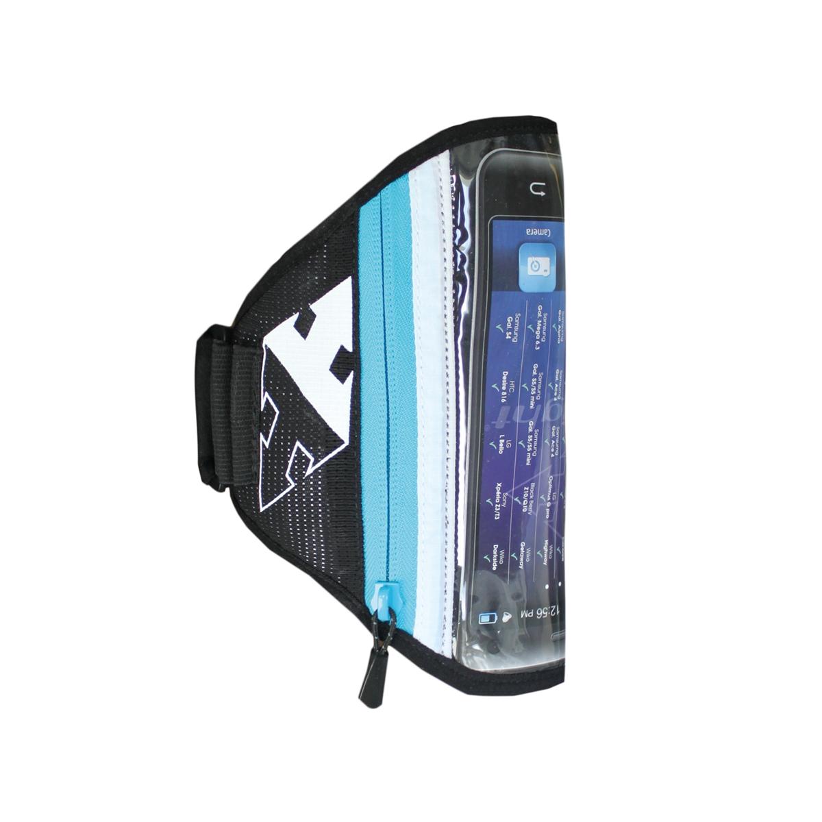 RaidLight pouzdro na telefon Smartphone Arm Belt XL Barva: dark grey / electric blue