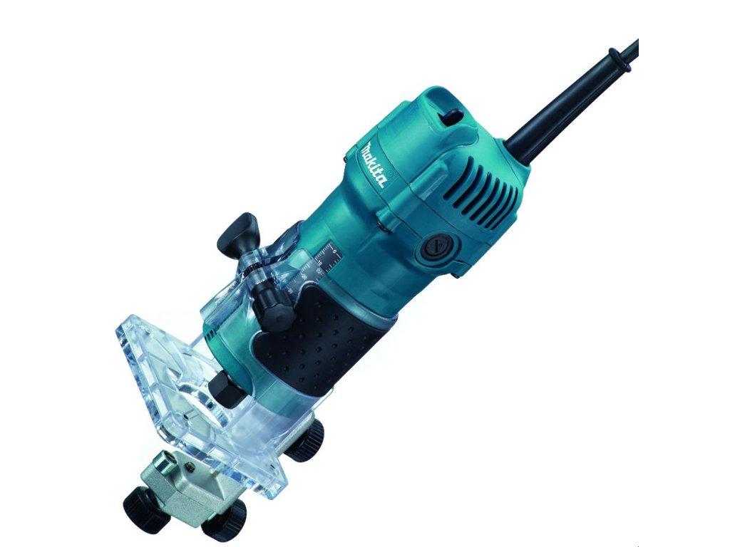 Makita 3709 Jednoruční frézka 6mm, 530W