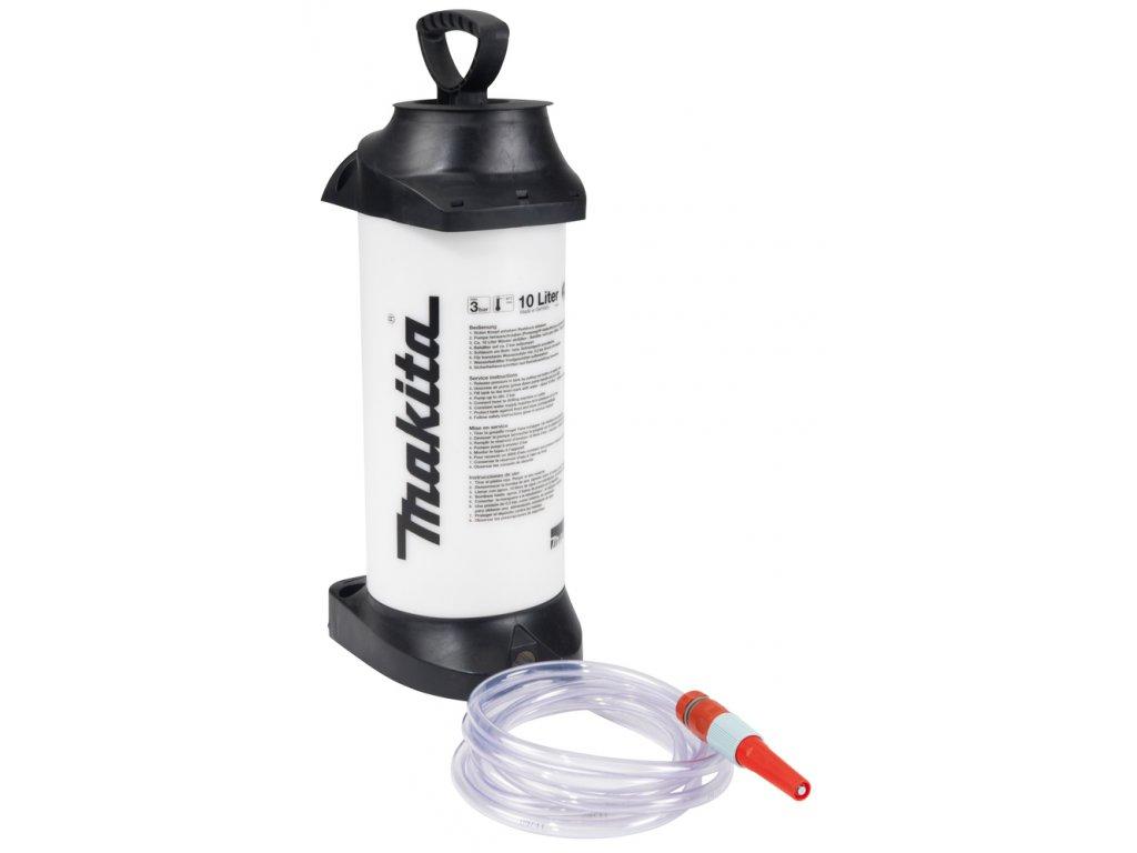 Makita 988394610 tlaková nádrž na vodu 10l + hadice a rychlospojka