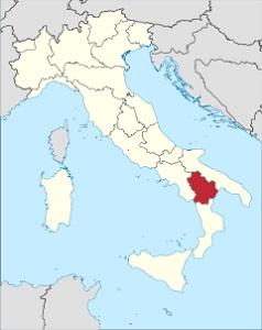 Vína z kraje Basilicata