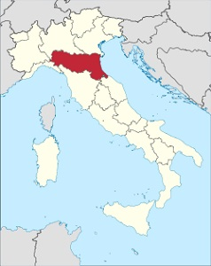 Vína z kraje Emilia Romagna