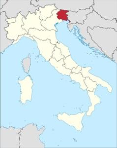 Vina z Friuli a Benátska