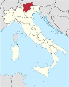 Vína z Trentina / Alto Adige