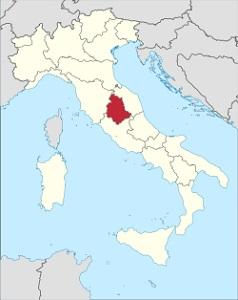 Vína z Umbrie