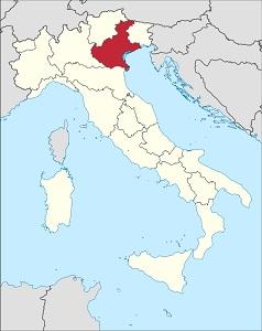 Vína z kraje Veneto