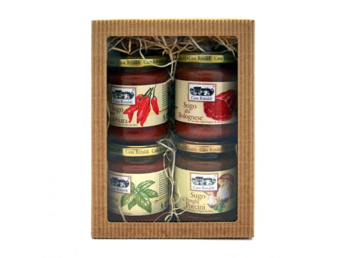 Dárková kazeta - italské rajčatové omáčky