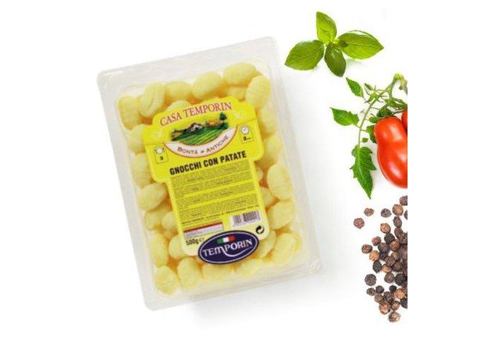 Gnocchi con spinaci, 500gr