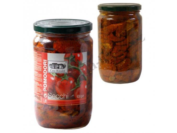 POMODORI SECCHI sušená rajčata v oleji 630g