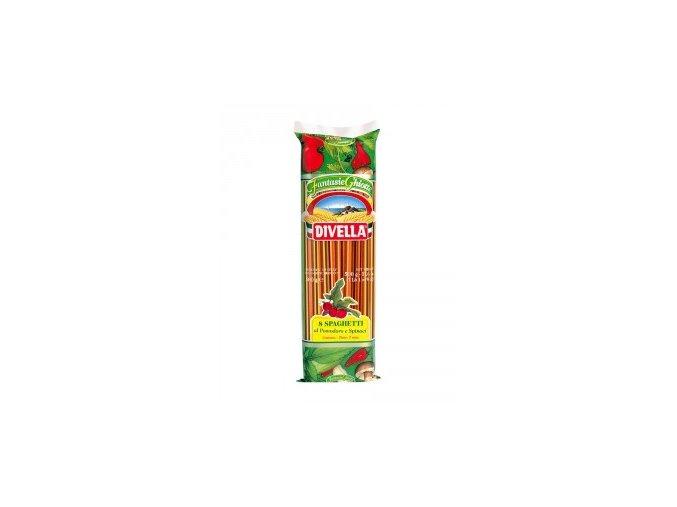 Spaghetti tricolori Divella 500gr