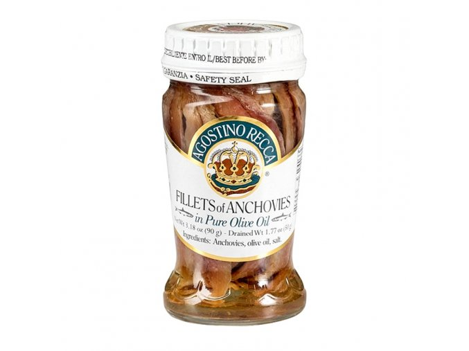 Ančovičky v olivovém oleji 90 g