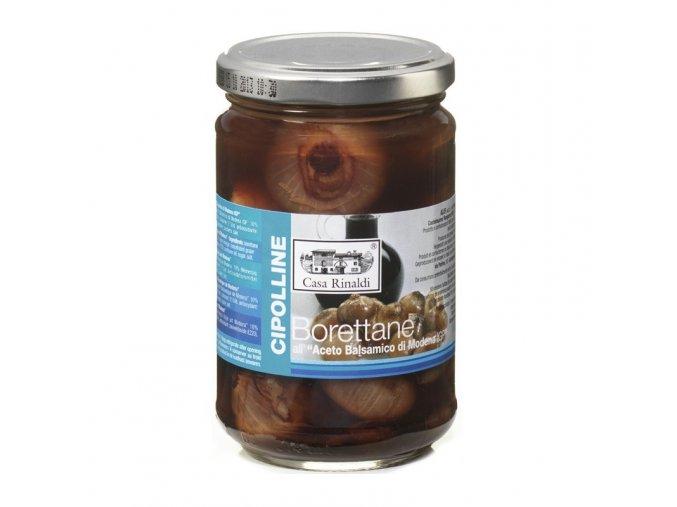 Cibulky Borettane v balsamikovém octu 314 g