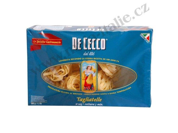 TAGLIATELLE DeCecco 500 g