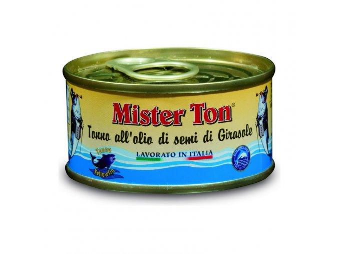 Kousky tuňáka v rostlinném oleji 80 g