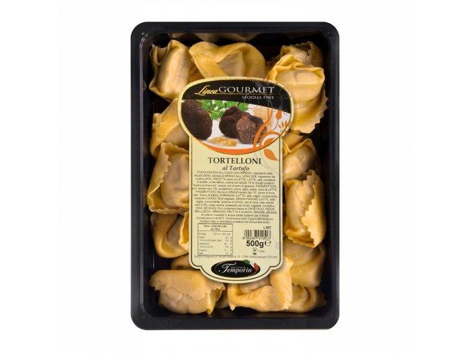 Čerstvé tortelloni plněné pastou z černých lanýžů 500 g