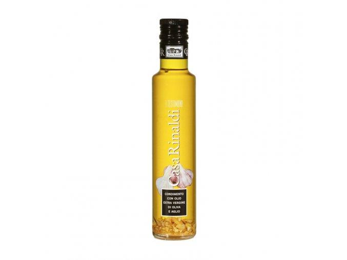 Ochucený Extra panenský olivový olej česnek 250 ml
