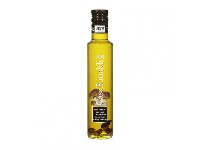 Ochucený Extra panenský olivový olej s hříbky 250 ml