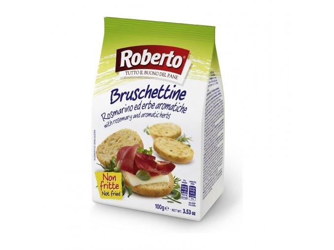 Bruschettine rosmarino