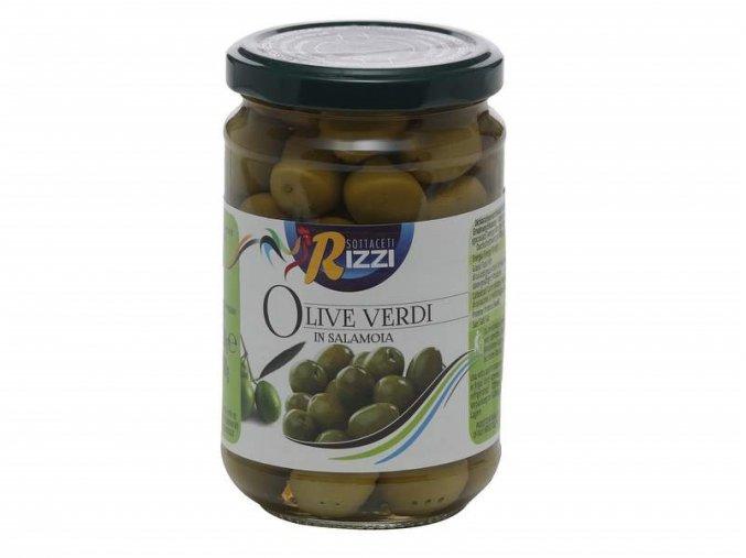 210027 Olive verdi in salamoia Rizzi 290gr