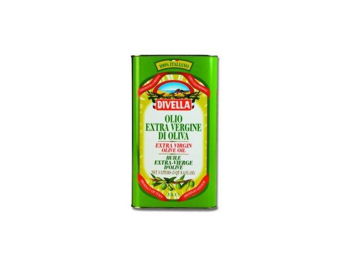 Olivový olej - extra panenský Divella 3l