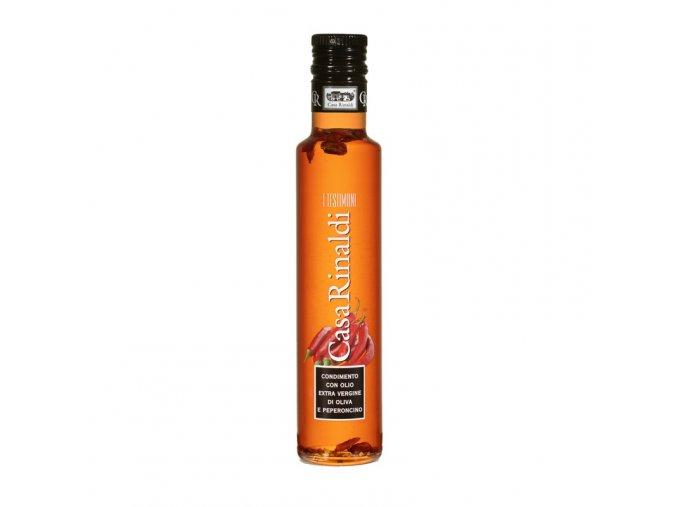 Ochucený Extra panenský olivový olej peperonzino 250 ml