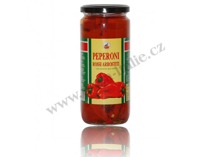 PEPERONI arrostini - grilované papriky 460g