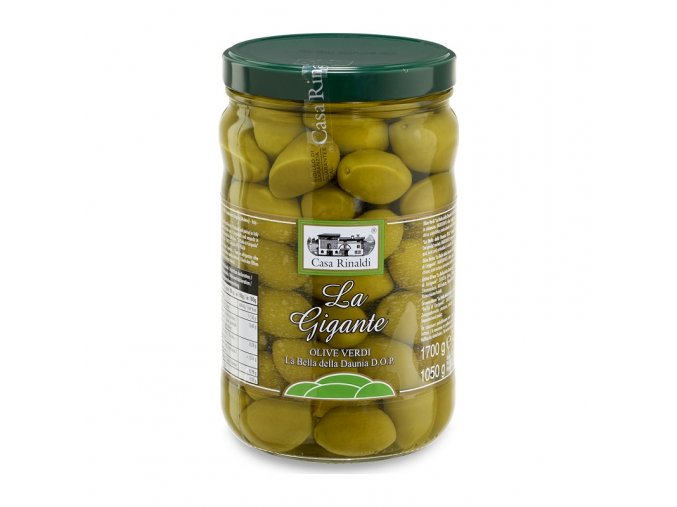 Olive Verdi di cerignola zelené olivy gigant 300 g